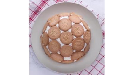 美味的饼干牛奶水果蛋糕这样做