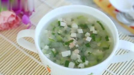 学会了这道冬瓜豆腐虾仁汤, 不再为宝宝的营养担心了
