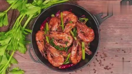 干锅香辣虾】虾的这种做法, 好吃到连壳都不剩