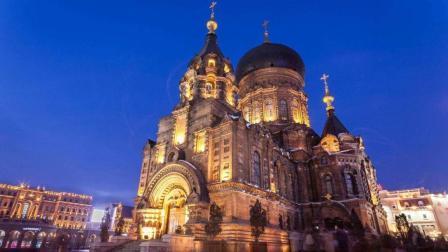 《阴天》哈尔滨圣索菲亚大教堂(搭档: 刘双雪)