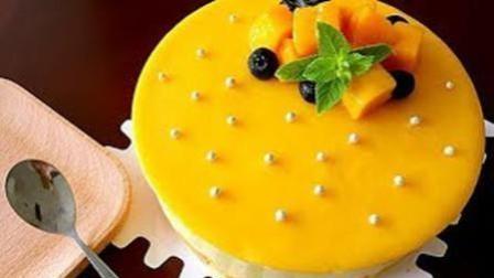 家常芒果慕斯蛋糕的做法: 芒果冻芝士免烤箱蛋糕