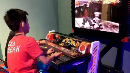 拳皇2005格斗之王97风云再起以前游戏厅的格斗街机游戏视频