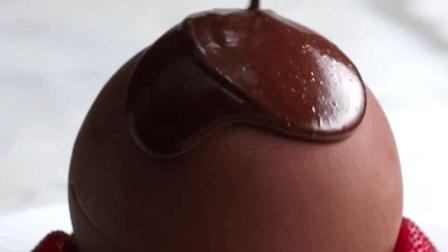 甜品美食 巨型美味巧克力球, 坚信只要活着就一定会遇到好吃的