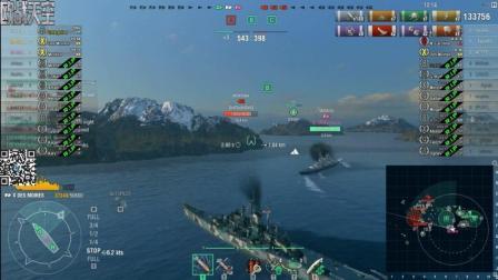 【战舰世界欧战天空】水听流兴登堡与射速流得梅因