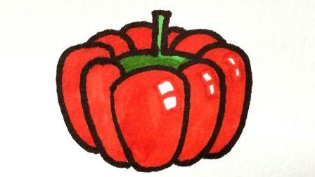 宝宝爱画画第八课 儿童简笔画南瓜图片视频教程, 大南瓜卡通画步骤分解