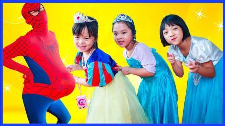 超级英雄蜘蛛侠怎么怀孕啦 魔法女巫打小人恶搞真人秀 美国队长 卡通动画 小猪佩奇