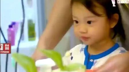 甜馨模仿李小璐, 贾乃亮为她服务, 小小年纪就有
