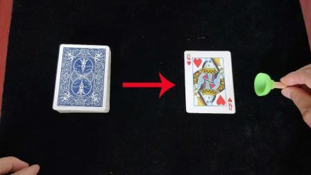 刘谦骗了我们10多年的魔术, 吸盘找出观众的牌, 揭秘后真简单