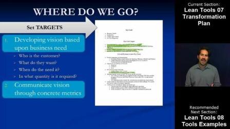 精益工具07: 精益变革计划