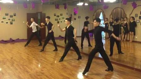 河南艺考培训 郑州红英舞蹈 体育舞蹈艺考 舞蹈艺考 男生恰恰
