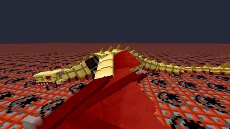 小橙子姐姐我的世界《TNT大陆》19: 超帅大龙装金盔甲!