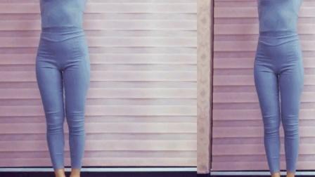 自由舞步《瘦腰减肥操》一组动作四个方向