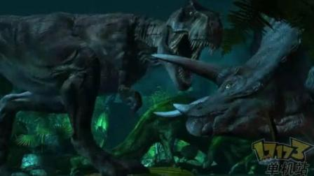 恐龙世界 第23期 霸王火龙和小土龙的恐龙觅食08 侏罗纪公园 亲子游戏
