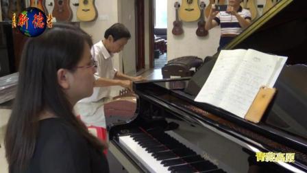 012、蓝达浮古筝独凑、张楚喻钢琴伴凑-青藏高原 3分54秒