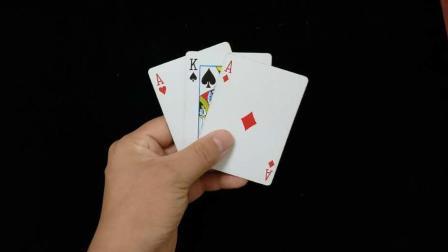 只用到三张牌的魔术, 刘谦用它骗过了亿万观众的眼睛, 我已学会