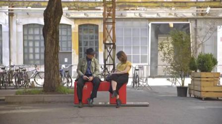 雀巢创意暖心广告: 3秒可把路人关系拉近的&ldq