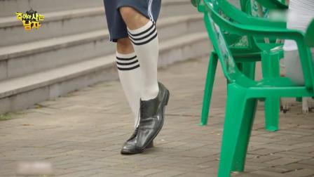 申盛禄穿皮鞋晨运引尴尬,假夫妻演戏也是绝了