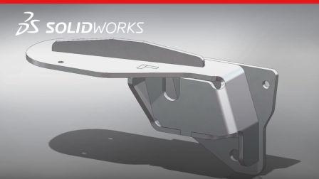 SOLIDWORKS 2018 - 自动为钣金设计创建凸舌和槽口