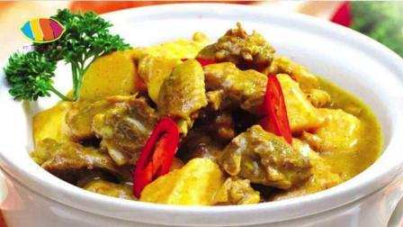 在鸡肉中加入咖喱, 正宗的做法让你感觉一下就到印度!