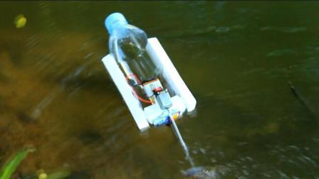 废物利用, 饮料瓶手工DIY电动马达船