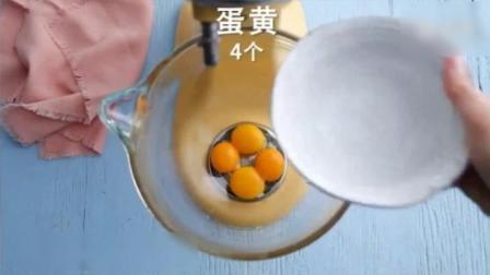 蛋糕: 樱花樱桃瑞士卷, 烘焙盘上的调色画