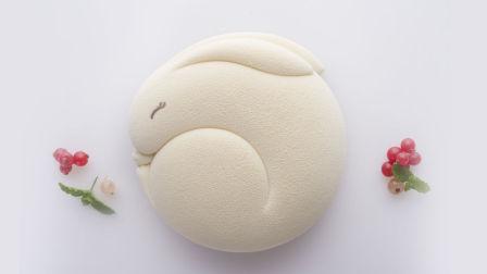 莫夫教室—中秋节蛋糕系列之相思兔蛋糕制作流程