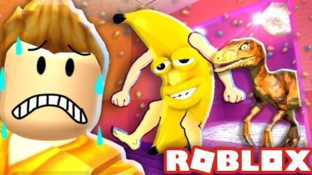 「Roblox恶搞恐怖电梯」被外星飞船吸走! 乐高变身相扑选手星际穿越! 小格解说