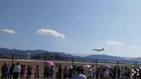 甘肃陇南机场校飞终于来了, 陇南机场首飞取得圆满成功!