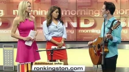 拉斯维加斯电视澳大利亚歌手 Ron Kingston Las Vegas ABC TV (2016)