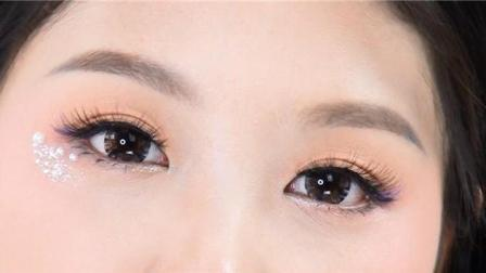 新手化妆教程系列之撞色眼影技法, 零基础生活化妆教程视频, 米嘉老师化妆视频