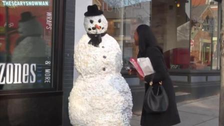 憋! 乱! 摸! 雪人也是有尊严哒!