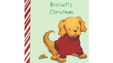 正好在家学-双语绘本故事-小饼干的圣诞节