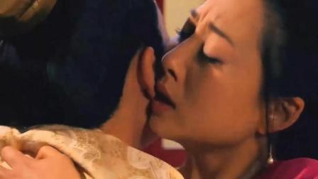 武媚娘在皇帝床榻前, 和太子恩爱, 把重病皇帝活活气死了