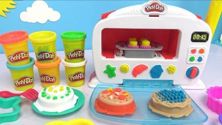 奇奇和悦悦的玩具 2017 小猪佩奇用烤箱烘焙生日蛋糕 239 佩奇用烤箱烘焙生日蛋糕