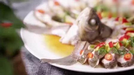《孔雀开屏鱼》清蒸鱼的花样做法, 特别好吃!