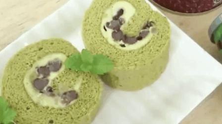 一份教你制作《抹茶瑞士蛋糕卷》简单好吃, 美美的