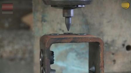 先进的热摩擦钻碳化钨钻孔, 这速度块且无噪音! 好厉害