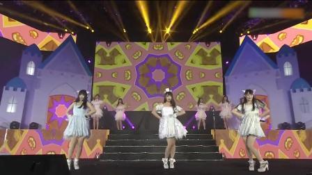 SNH48年度金曲大赏,女神卖萌唱跳《天使的尾巴》萌翻全场