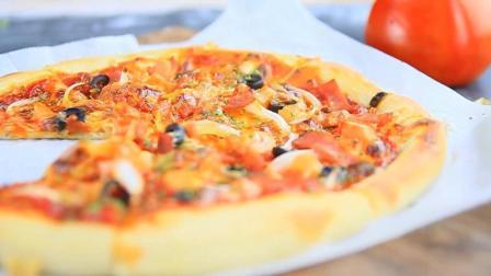 美味十足! 番茄培根披萨! 来看看, 你们要的披萨制作方法来了