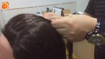 麻花辫低马尾辫子编发视频教程一步步教盘发扎发技巧