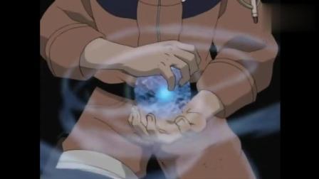 火影忍者: 鸣人VS纲手, 螺旋丸被纲手一根食指给打败!