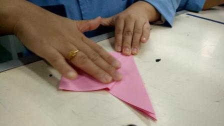 手工折纸操作教程详解 手工折花百合花朵视频 教师节礼物