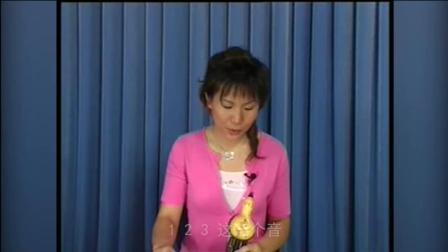葫芦丝入门学习葫芦丝教程8葫芦丝月光下的凤尾竹教学视频