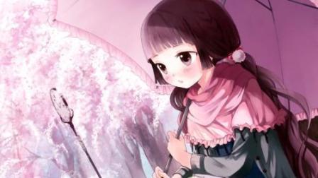 樱花飘落太美了二次元的校园爱情唯美动漫混剪