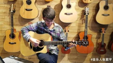 很多吉他初学者看到这个谱子觉得不难, 一弹就不行了