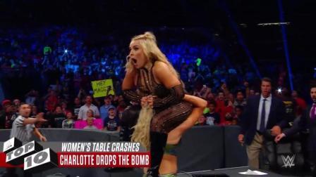 WWE美女们的动作怎么都这么羞羞!