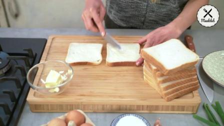 吐司你还在做三明治吗, 其实吐司还可以这样做