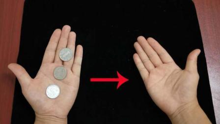 硬币从左手隔空跳到右手, 比刘谦春晚还神奇! 揭秘后真简单