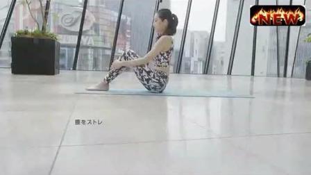 性感美女车模练习瑜伽必须看, 这身材这长相真是