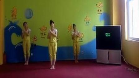 幼儿舞蹈: 古诗联唱—咏鹅 悯农 春晓